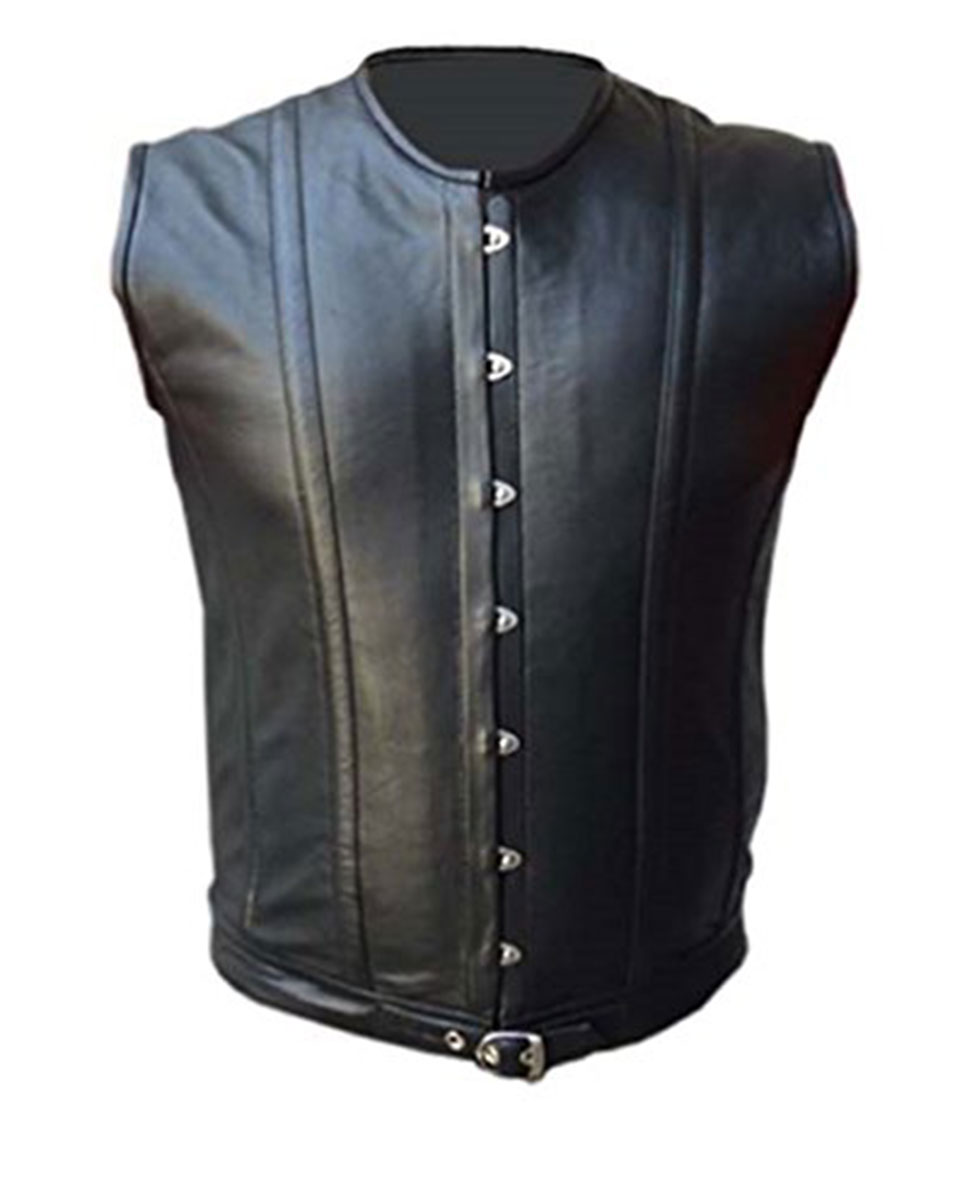 aa3f1c0324 ... Leather Steel Boned Corset (STEAM4). Hot. prev