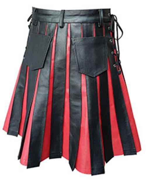 leather kilt for men